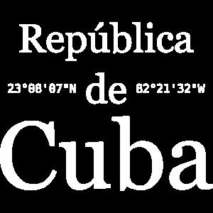 Republica de Cuba Koordinaten Karibik