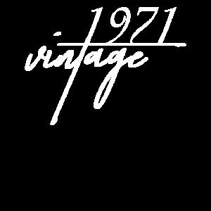 Vintage 1971. 1971 Geburtstagsgeschenk