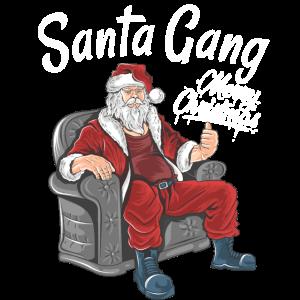 Weihnachtsmann Gang lustiges Weihnachtsgeschenk