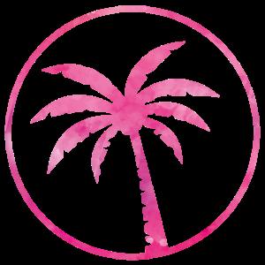 palm tree pink