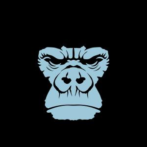 Gorilla Menschenaffe 2111