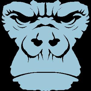 Gorilla große Affen maske 2111