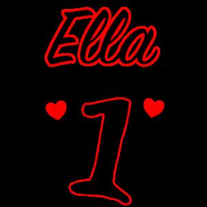 Ella ist jetzt 1 - Erster Geburtstag