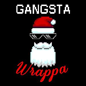 Gangsta Wrappa Weihnachten Weihnachtsmann Bescheru
