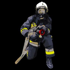 Feuerwehrmann, Feuerwehrfrau, Atemschutzträger
