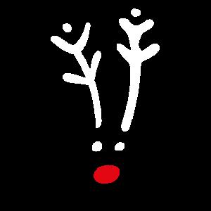 Rentier roter Rudolf