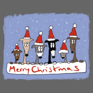 Christmas with sighthounds