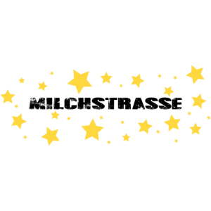 Milchstrasse mit Sternen