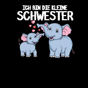 Ich bin die kleine Schwester süßer Elefant