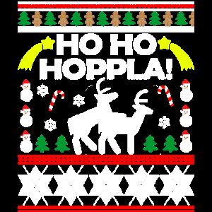 Lustiges Rentier Kostüm Christmas