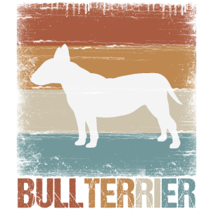 Bullterrier Hund Geschenk