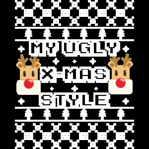 My ugly xmas style - Rudolf das Rentier