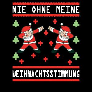 Ugly Christmas Dab Dabbing Weihnachtsmann