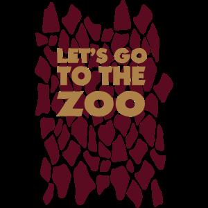 Lass uns zur Zoogiraffe gehen