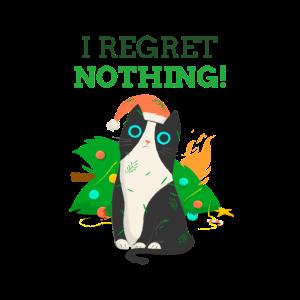 Weihnachtsmieze I regret nothing