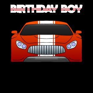 Birthday Boy Car Bday