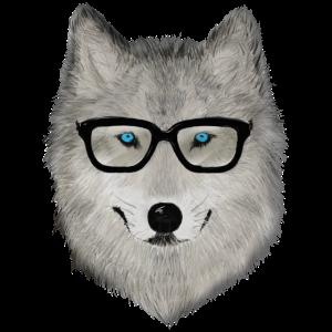 Wildtier mit Brille V02