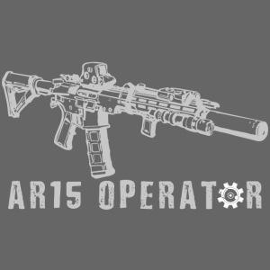 AR15 operator