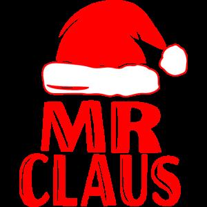 Mr Santa Claus Weihnachten Partnerlook Christmas