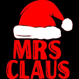 Mrs Santa Claus Weihnachten Partnerlook Christmas