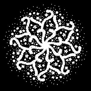 Mandala, Wintermotiv
