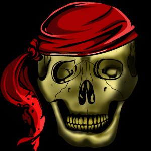 Piratenkopf Totenkopf Schädel