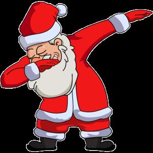 Dabbing Weihnachtsmann