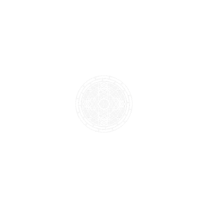 Heilige Geometrie gerahmte Blume
