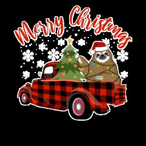 Faultier Weihnachten | Weihnachtsgeschenk Geschenk
