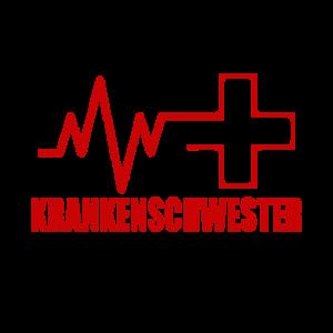 Krankenschwester Herzlinie