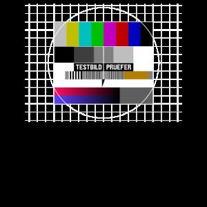 Fernseher Analog Testbild Prüfer