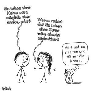 Ohne Katze