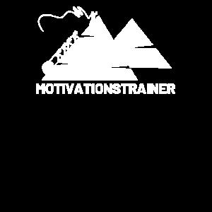 Motivationstrainer Motivation mit Peitsche Pyramid
