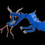 Créature bleu