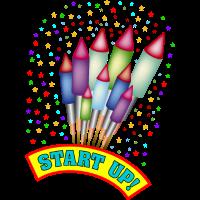 Raketen / Feuerwerk / Start up
