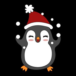Pinguin Weihnachten Schnee Winter Geschenk