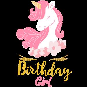 Geburtstag Einhorn Mädchen Girl Party Süßes Kinder