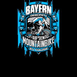 Bayern MTB Mountainbike Berge Geschenk für Biker