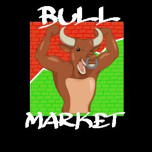 Bull Market Bulle Aktie Dividende Börse Finanzen