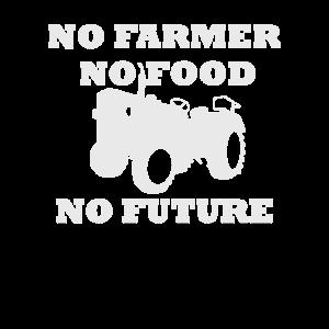 No Farmer No Food No Future Landwirtschaft Demo