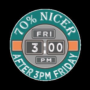 Lustige 70% schöner nach 15 Uhr Freitag Geschenk