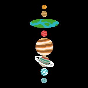 Flat Earth Solar System Flache Erde