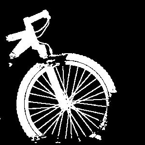 Mountainbike Grunge Shabby Chic