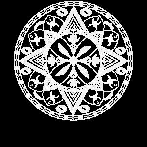 Mandala-Sweatshirt Mandala-Yoga-Abnutzung