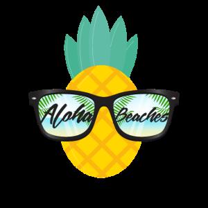 Aloha Beaches Tropical Geschenk