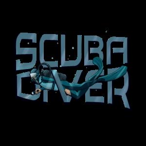 scuba diver Taucher tauchen Hobby Diving Geschenk