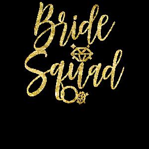 Braut Squad Hochzeitsgeschenk