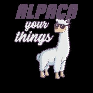 Alpaka lustiges Alpca design