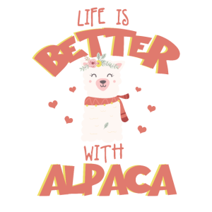 Alpaka Love Alpaka Mädchen