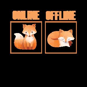 Online Offline Fuchs